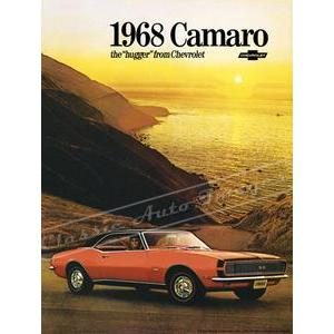 1968 CHEVY CAMARO RS/SS POSTER