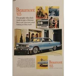 1965 BEAUMONT POSTER