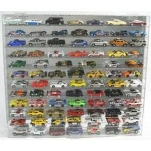 DISPLAY CASE HOLDS 84 OF 1:64 SCALE DIE CAST