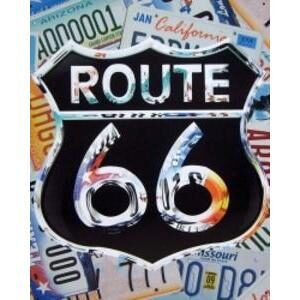 ROUTE 66 LICENSE COLLAGE