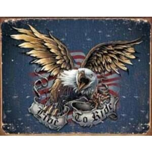 LIVE TO RIDE - EAGLE