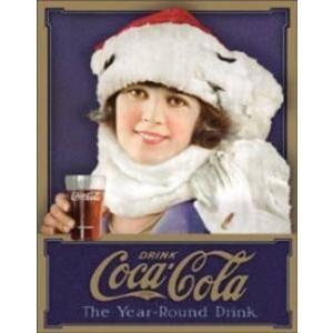 COKE WINTER GIRL