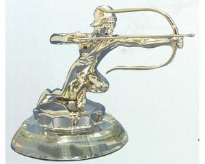 1926 PIERCE ARROW HOOD ORNAMENT