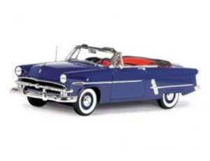 1953 Ford Crestline Sunliner Convertible at diecastdepot