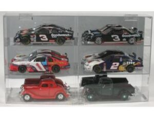 DISPLAY CASE FOR 1:24 SCALE DIE CAST - HOLDS 6 - 2 EACH SHELF