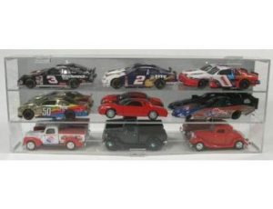 DISPLAY CASE FOR 1:24 SCALE DIE CAST - HOLDS 9