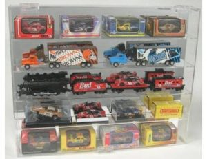 DISPLAY CASE FOR 25 - 1:64 SCALE DIECAST - OVERSIZED