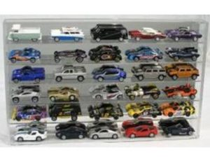 DISPLAY CASE FOR 30 - 1:64 SCALE DIE CAST