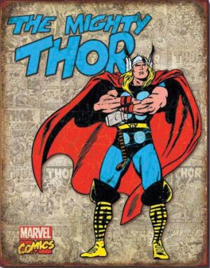 Thor Retro Cover at diecastdepot