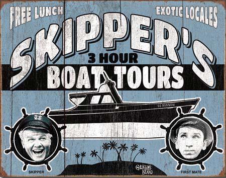 Gilligan's Island- Skipper Tour at diecastdepot