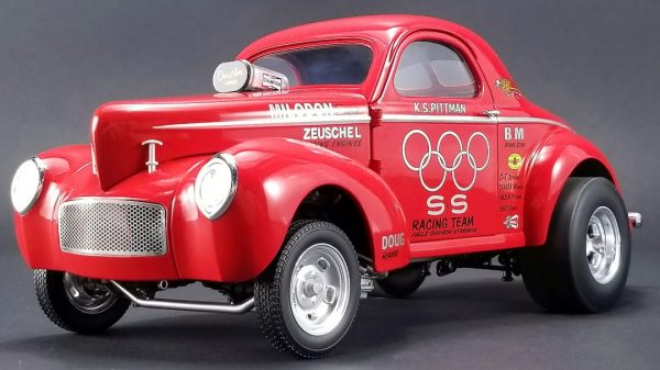 "1941 Willys Gasser ""S&S Racing Team"" KS Pittman at diecastdepot"