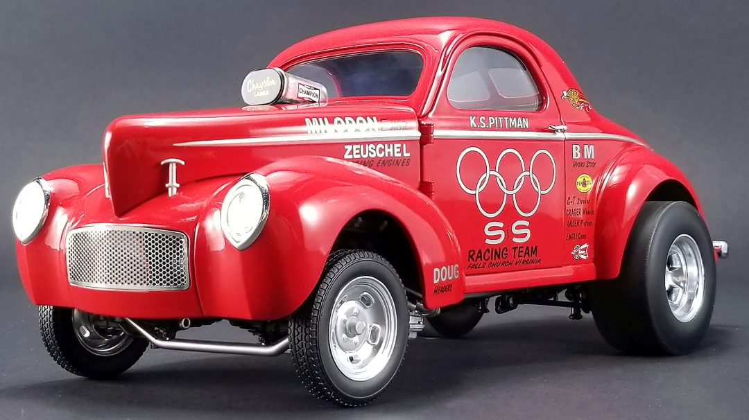 ACME 1//18 Willys Gasser limited to 408 worldwide