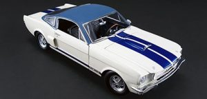1966 Shelby GT350 with Vinyl Top - 1 of 1 Prototype at diecastdepot