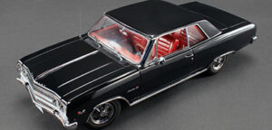 1965 Chevrolet Chevelle Z16 - Black at diecastdepot