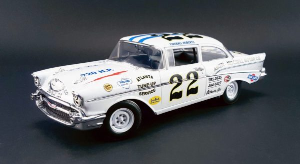 1957 Chevy Bel Air - Fireball Roberts #22 at diecastdepot