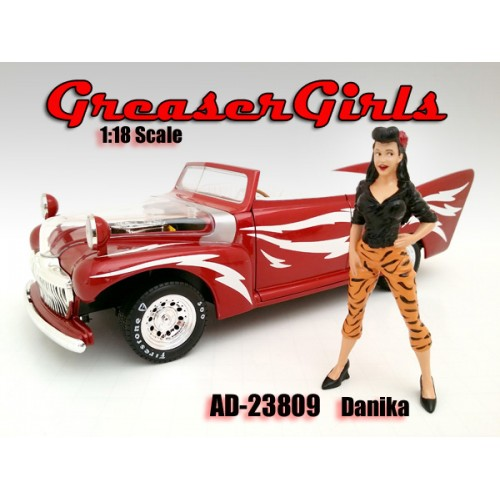 Greaser Girls - Danika 1:18 scale figurine at diecastdepot
