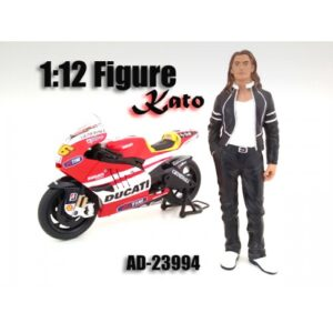 Biker Kato - 1:12 Scale (6 inches tall) at diecastdepot