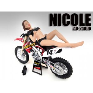 Model Nicole figurine in 1:12 Scale at diecastdepot