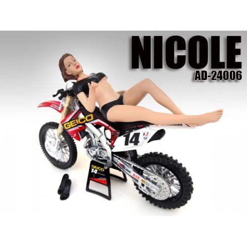 Model Nicole figurine in 1:12 Scale at diecastdepot