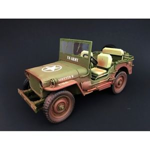 Army Jeep- US Army- (Dirty Version) at diecastdepot