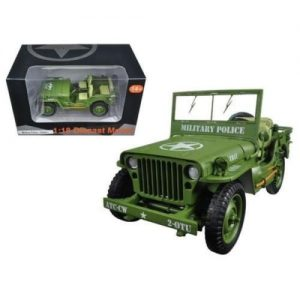 Army Jeep- Military Police at diecastdepot