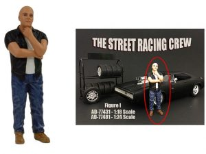 Street Racing Figure- I at diecastdepot