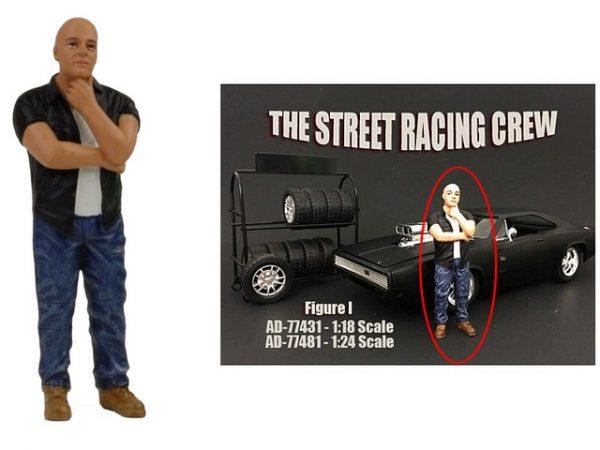 Street Racing Figure- I at diecastdepot