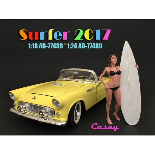 1:24 Surfer Figurine - Casey at diecastdepot