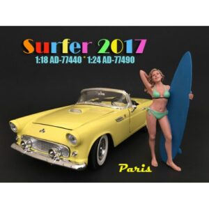 1:24 Surfer Figurine - Paris at diecastdepot