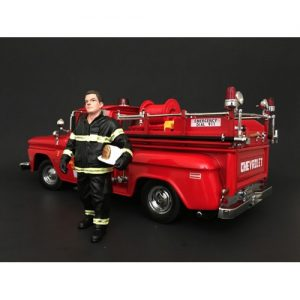 Firefighter - Fire Chief figurine at diecastdepot