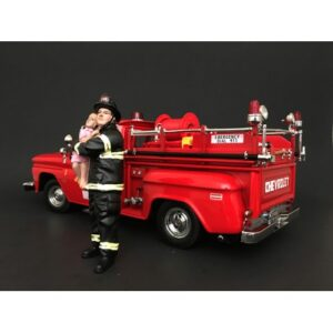 Firefighter - Saving Life figurine at diecastdepot