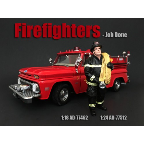 Firefighter - Job Done at diecastdepot