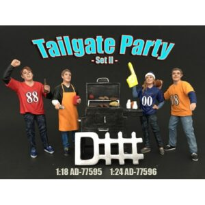 Tailgate Party Set II  - 1:18 scale at diecastdepot