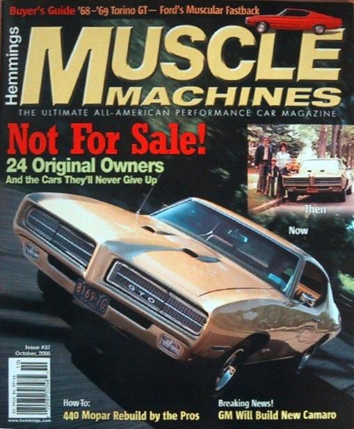 1969 Pontiac GTO (Hemmings Muscle Machine) Antique Gold