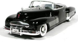 1938 Buick Y Job - Black at diecastdepot