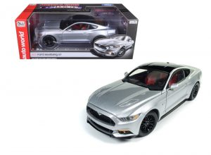 2017 Ford Mustang GT- Silver at diecastdepot