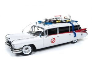 1959 Cadillac Ambulance (Ghostbusters Ecto-1) 1:21 Scale at diecastdepot