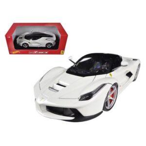Ferrari LaFerrari- White at diecastdepot