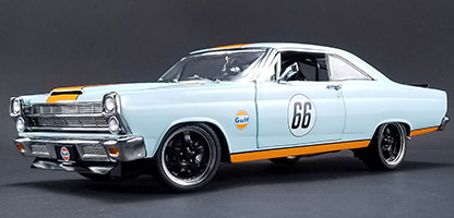 1967 Street Fighter Ford Fairlane - Gulf Oil at diecastdepot