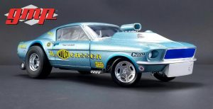 Ohio George's 1967 Ford Mustang Malco Gasser with Airplow Front Spoiler at diecastdepot
