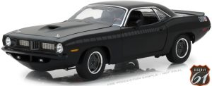 "1970's Plymouth Cuda AAR ""Fast & Furious 7"" Black at diecastdepot"