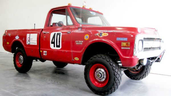 "1969 Chevrolet 4x4 Pick up Truck ""Steve McQueens"" Baja 1000 Truck at diecastdepot"