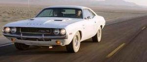 1970 Dodge Challenger R/T - white at diecastdepot