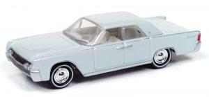 1961 Lincoln Continental hardtop (Gloss Gray) at diecastdepot