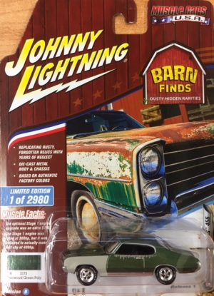 1970 Buick GS 455 - Johnny Lightning Barn Finds - Limited to 2980 at diecastdepot