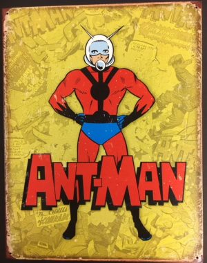 "Ant Man Retro metal sign - 16x12.5"" at diecastdepot"