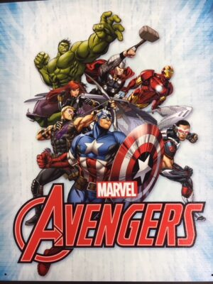 "Marvel Avengers Assemble - metal sign - 16x12.5"" at diecastdepot"