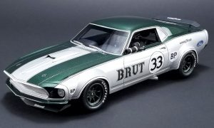 1969 Ford Boss 302 Trans Am Mustang #33 - Allan Moffat at diecastdepot