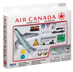 Air Canada 12 Piece Playset at diecastdepot