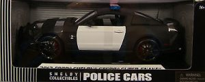 2012 Shelby GT500 Super Snake Police Car at diecastdepot